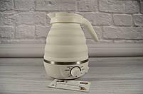 Складной силиконовый электрочайник (Чайник - SmartTech), фото 3