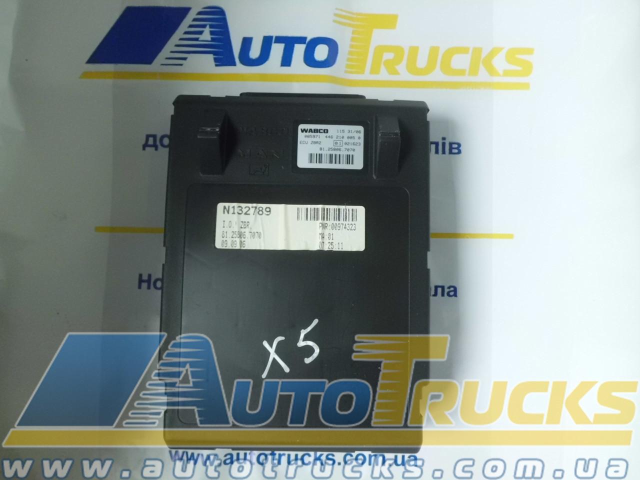 Блок управления WABCO 1153106; ESU ZBR 2 Б/у для MAN (4462100050; 81258067070)