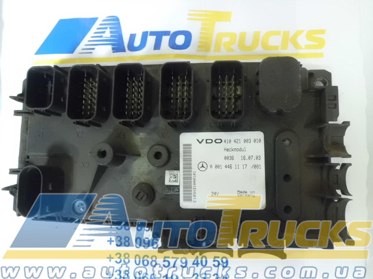Блок управления VDO 410421003010; MB 0014461117 Б/у для Mercedes-Benz (410421003010; 0014461117)