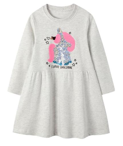 Платье детское 2Т, 3Т, 4Т, 5Т,  7Т