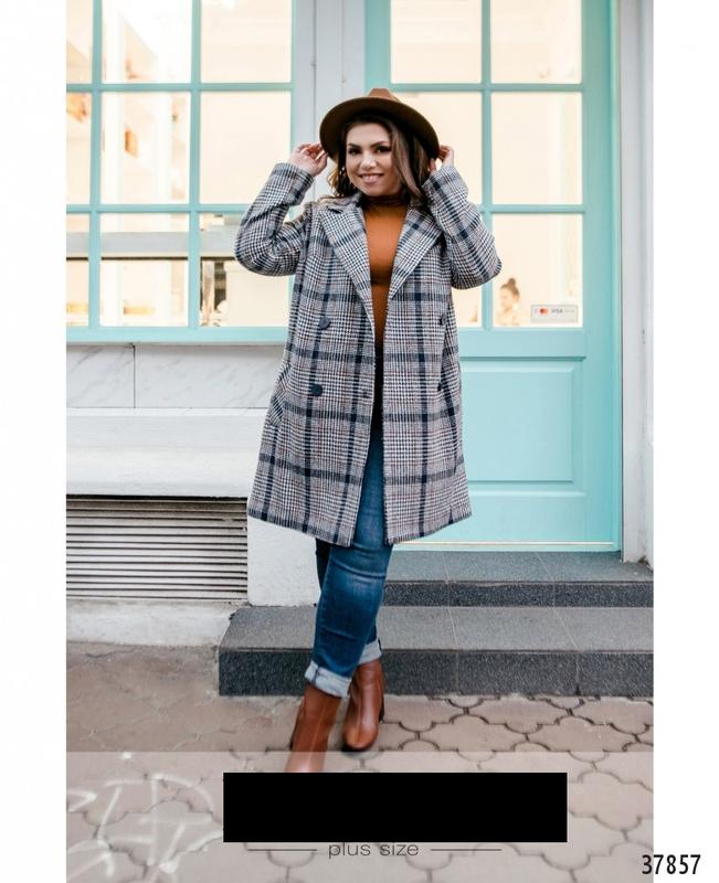 Пальто женское демисезонное размеры: 48-62