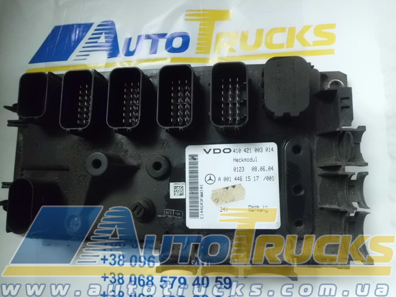 Блок управления VDO 410421003014; MB 0014461517 Б/у для Mercedes-Benz (410421003014; 0014461517)