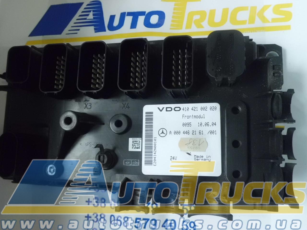 Блок управления VDO 410421002020; MB 0004462161 Б/у для Mercedes-Benz (410421002020; 0004462161)