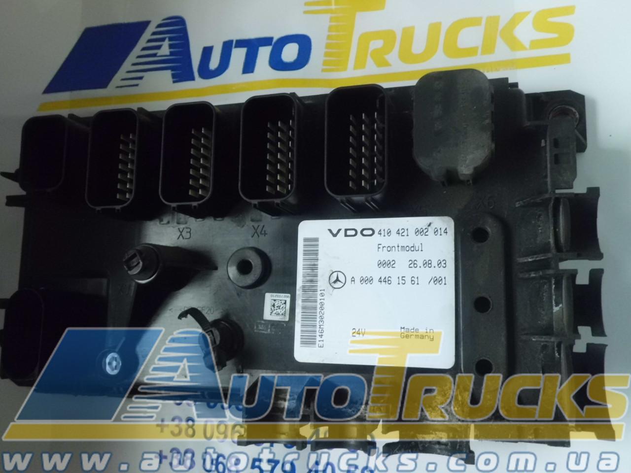 Блок управления VDO 410421002014; MB 0004461561 Б/у для Mercedes-Benz (410421002014; 0004461561)