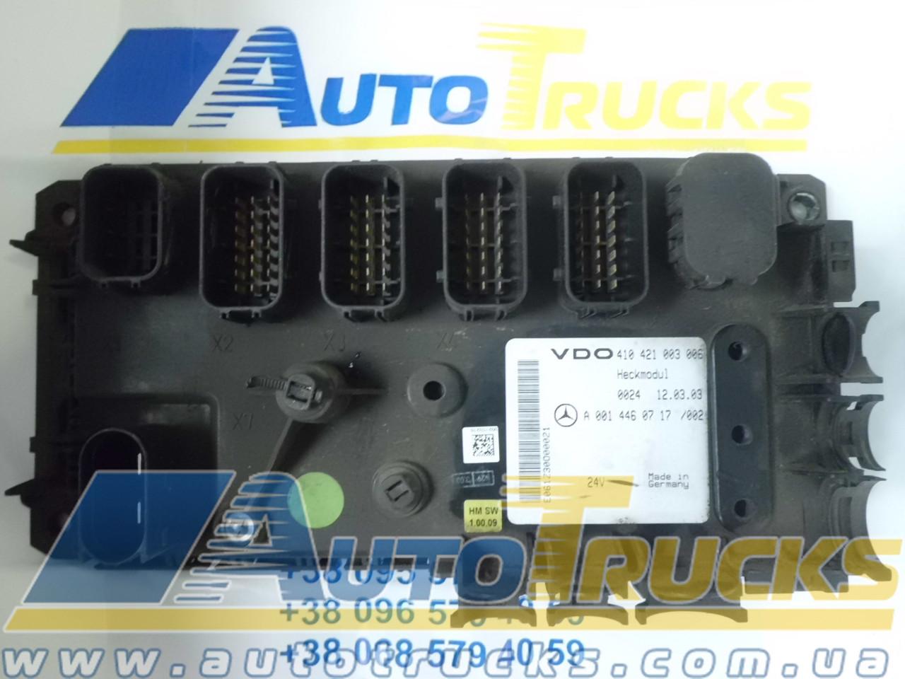 Блок управления VDO 410421003006; MB 0014460717 Б/у для Mercedes-Benz Actros (410421003006; 0014460717)