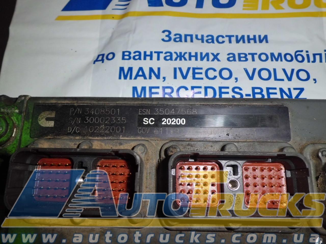 Блок управління двигуном 3408501 Б/у для MAN ERF (3408501)