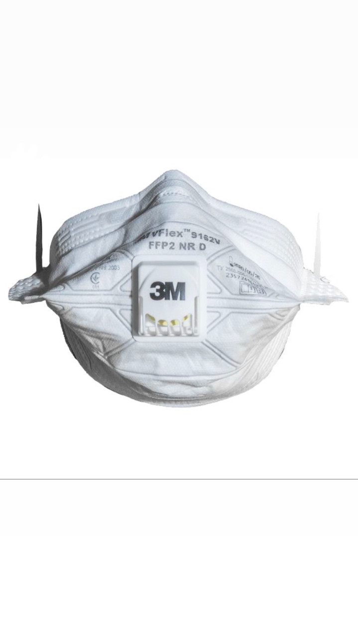 Респиратор 3М VFLEX 9162 FFP2 (наличие и цену уточняйте) упаковка 15 шт.
