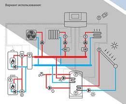 Salus Multi-Mix Погодозависимый контроллер для систем индивидуального отопления, фото 2
