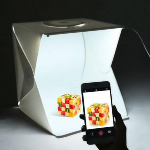Фотобокс (Лайткуб) для предметной макросъемки (40х40х40см)