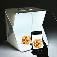 Фотобокс (Лайткуб) для предметной макросъемки (40х40х40см), фото 1