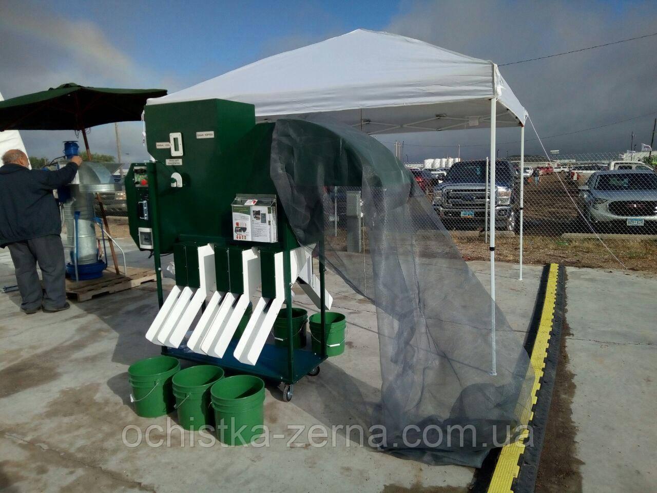Сепаратор для очищення та калібрування зерна ІСМ-5