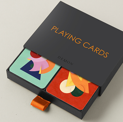 Карти гральні | Charlie Oscar Patterson x Yolky Games Playing Cards Twin Set