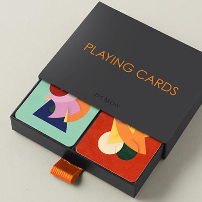 Карты игральные | Charlie Oscar Patterson x Yolky Games Playing Cards Twin Set