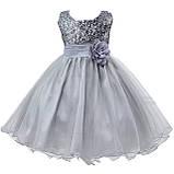 Детские нарядные платья с пайетками, фото 4