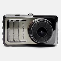 """Видеорегистратор DVR E26 3"""" LCD 1080p 170° Двойная линза, Автомобильный регистратор ДВР E-26 + подарок"""