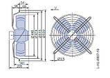 Осевой вентилятор Ziehl-Abegg FB045-VDK.4F.V4S, фото 2