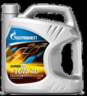 Масло моторное всесезонное универсальное Gazpromneft Super SAE 5W-40, 10W-40, 10W-30, 15W-40