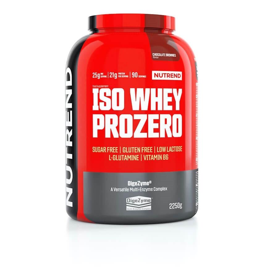 Протеїн Nutrend Iso Whey Prozero 2250g