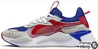 Мужские кроссовки Puma RS-X X TRANSFORMERS OPTIMUS Blue/Red
