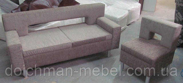 Диван и кресло для офиса, приемной - Производитель мебели DOICHMAN furniture (Дойчман мебель), филиал мебельной фирмы Польша в Киеве
