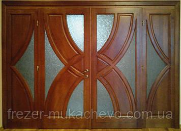 Двері міжкімнатні  з масиву, серія  Монако