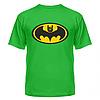 Летние хлопковые футболки с нанесением Batman rock