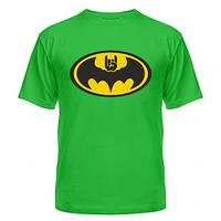 Летние хлопковые футболки с нанесением Batman rock, фото 1