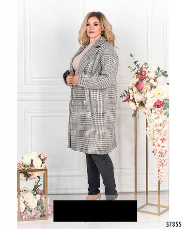 Пальто женское демисезонное размеры: 48-62, фото 2