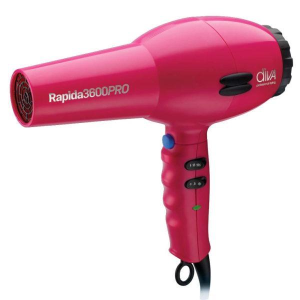 Фен для волос Diva D123 Rapida 3600 Pink