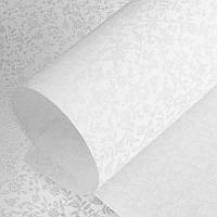 Рулонные шторы Rosemary. Тканевые ролеты Розмарин Белый, 37.5