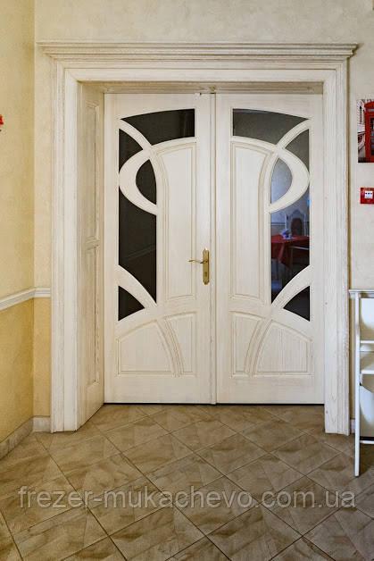 Двері міжкімнатні  з масиву, серія  Неаполь
