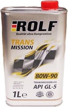 Масло трансмисс. 80W-90 ROLF Transmission GL-5,   1л, минерал