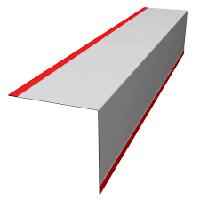 Металлический уголок 200*200 мм, внутренний внешний угол,гнутье, гнутые изделия,  планки для кровли
