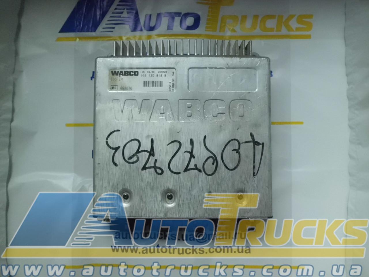 Блок управления EBS ZM 4461350180 Б/у для IVECO Stralis (4461350180; 11534/03)