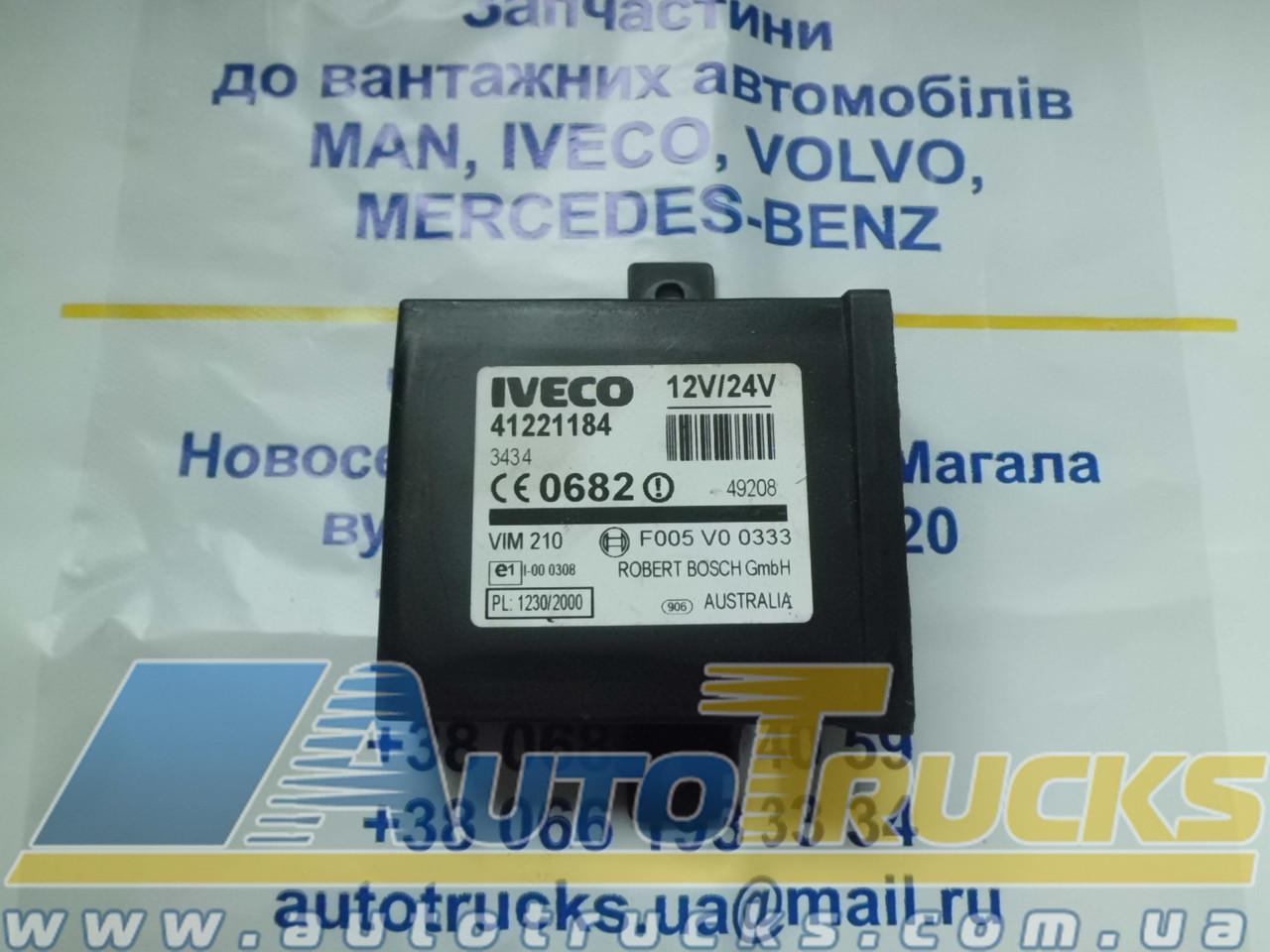 Блок управления 12V/24V Б/у для IVECO (41221184)
