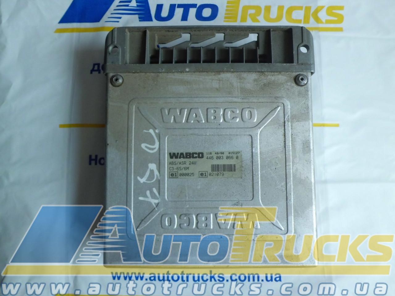 Блок управления ABS/ASR 24V C3-4S/4M Б/у для IVECO (4460040660; 98498212;)