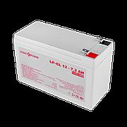 Аккумулятор гелевый LogicPower LP-GL 12 - 7,2 AH SILVER