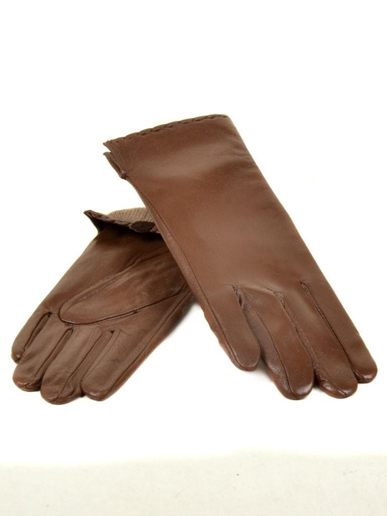 Перчатка Женская кожа (Ш) F23 мод7 кор st15 Распродажа