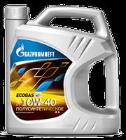 Масло моторное всесезонное универсальное Gazpromneft Ecogas 10W-40, 15W-40