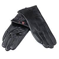 Перчатка Женская кожа F24/19-1 мод4 black флис