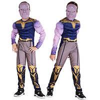 Костюм Танос ABC объемный М (128-138 см) Мстители - костюм Таноса