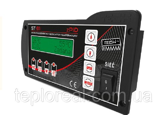 Автоматика для твердотопливных котлов  Tech ST-81 zPID (Польша)
