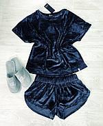Бархатный женский костюм, фото 3