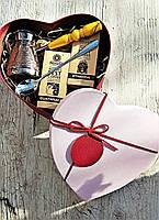 Кава подарунковий набір Рожеве серце, фото 1