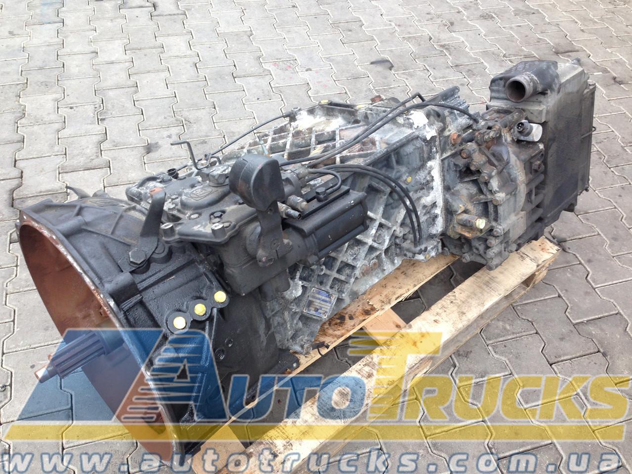 КПП механическая 16S2221TD Б/у для MAN (81320046017)