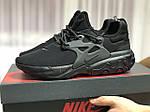 Чоловічі кросівки Nike React Presto (чорні), фото 2