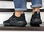 Чоловічі кросівки Nike React Presto (чорні), фото 3