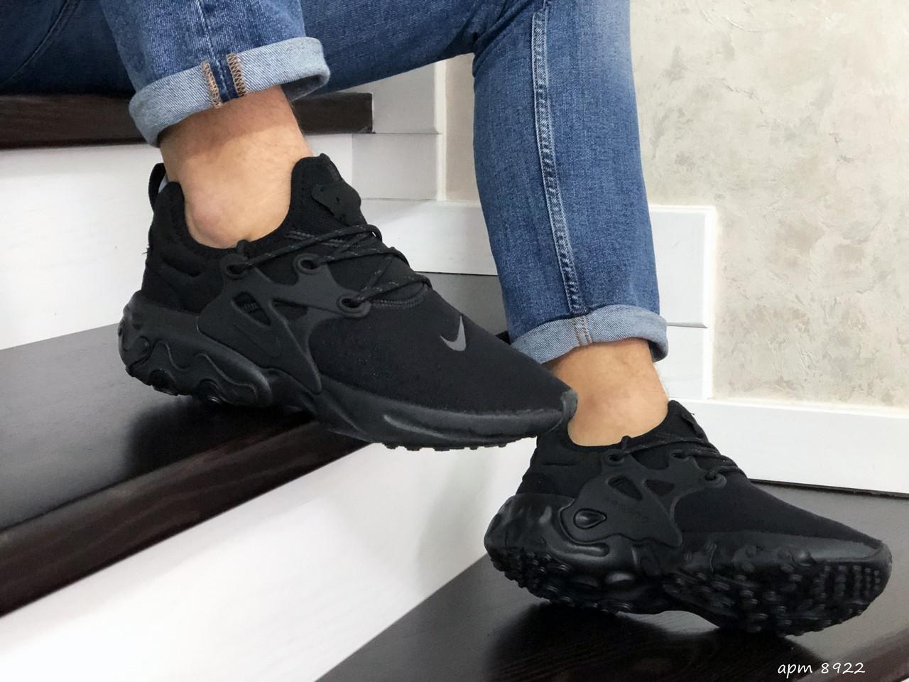 Чоловічі кросівки Nike React Presto (чорні)