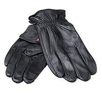 Перчатка Мужская кожа M21/19-1 мод2 black шерсть