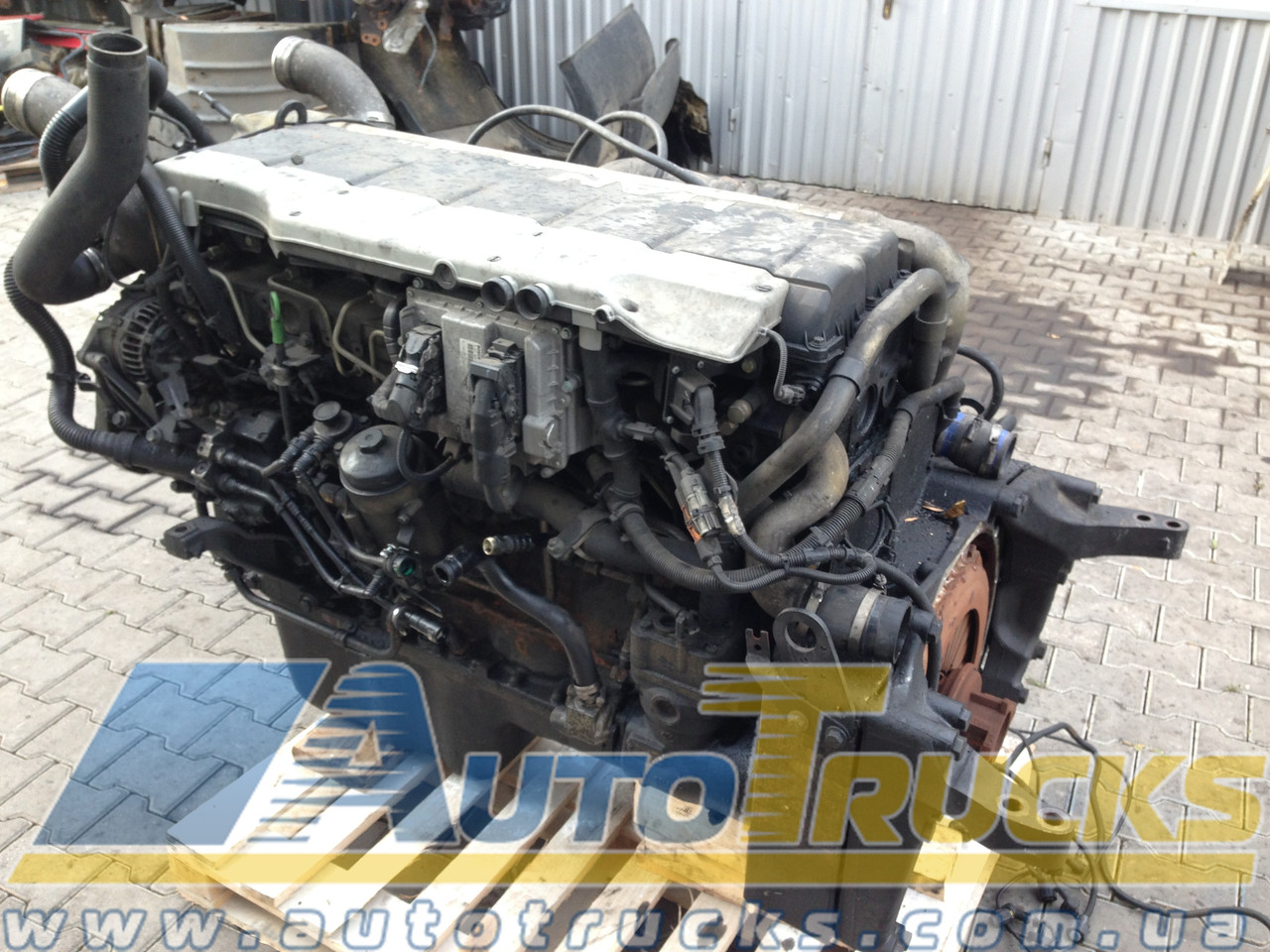 Двигатель D2066 LF01-04/6/7/11-53/57-60/62-65/69-72 Б/у для MAN